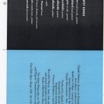 CD song list