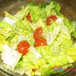 Garden Salad with Lemon Mint Dressing Recipe
