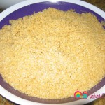 Wash bulgur once or twice and set aside.