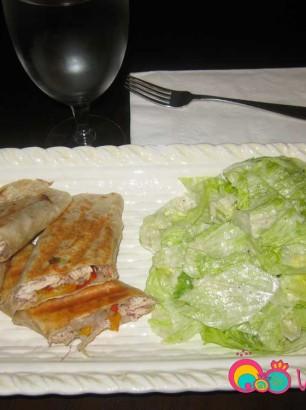 Chicken Sumac Wraps Recipe