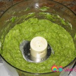 Place the spears into a food processor and process till creamy.