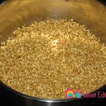 Wash the whole wheat and place in a 4 or 5 quart saucepan.