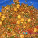 Add the rest of the ingredients and seasoning to the bulgur and parsley.
