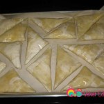 Preheat the oven to 350. Arrange the shaabiyat ( as many as you need) on a cookie sheet.